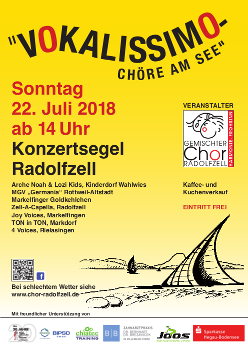 """Vokalissimo – Chöre am See"" 2018"